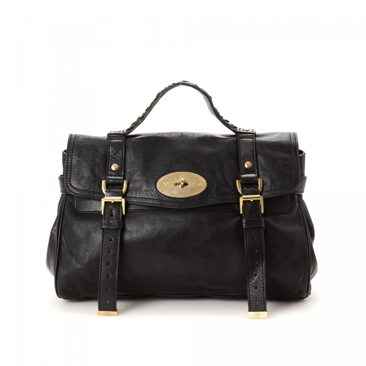 Mulberry Pre-owned - Black Leather Handbag t0QczK9k