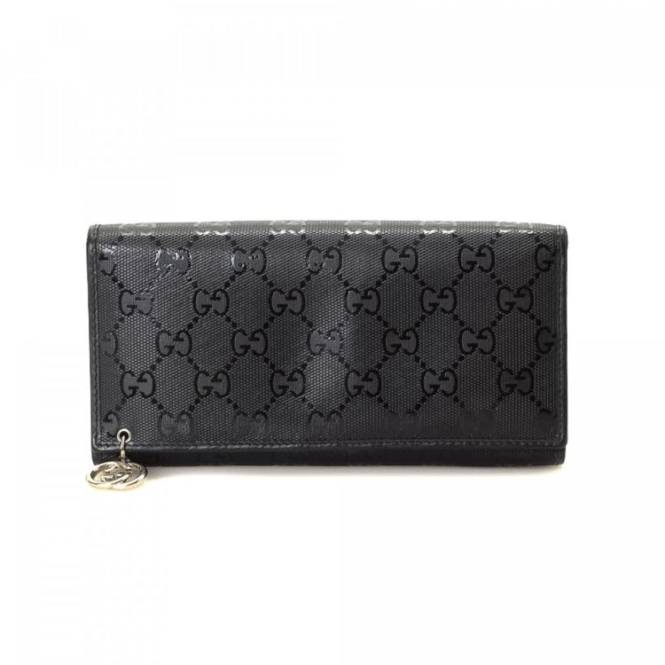 e7d0aee3f5c Gucci GG Imprime Long Wallet GG Imprime Coated Canvas - LXRandCo ...