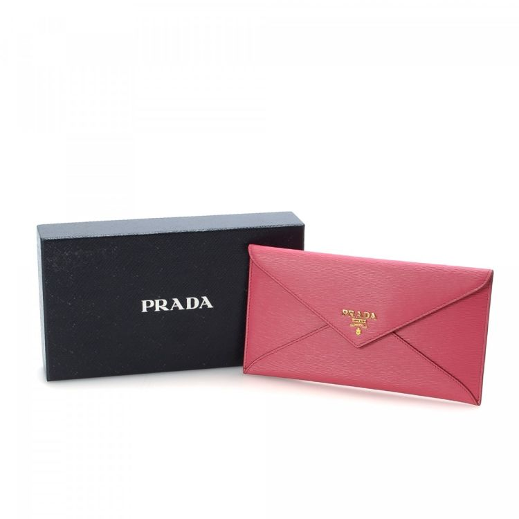 3313e30c70ad36 ... discount code for lxrandco guarantees the authenticity of this vintage  prada envelope clutch. this sophisticated