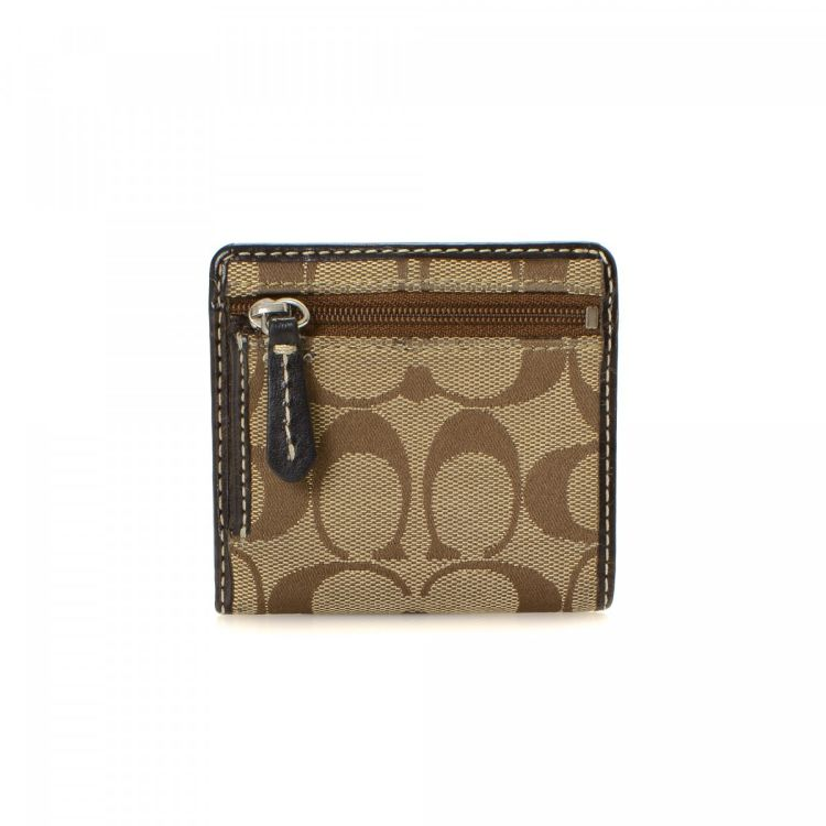 ... get lxrandco guarantees this is an authentic vintage coach compact  wallet. crafted in canvas this e7ece7b4cac59