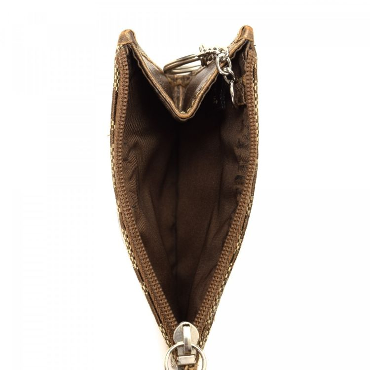 ... coin pouch wallet  coach key pouch canvas lxrandco pre owned luxury  vintage ... 443c081781581