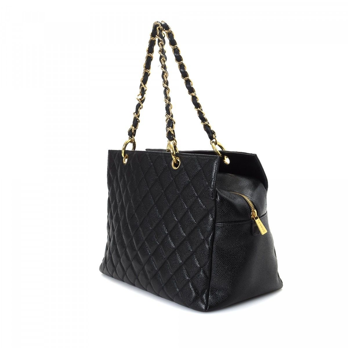 390d6685d9c1 Chanel Petite Timeless Tote Caviar Calf - LXRandCo - Pre-Owned ...