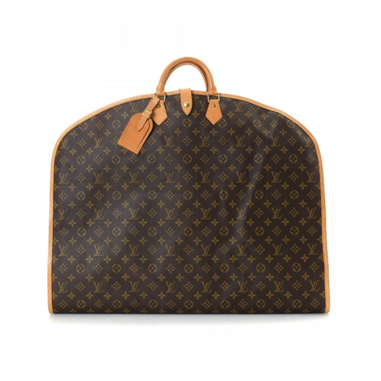 LXRandCo guarantees the authenticity of this vintage Louis Vuitton Garment  Bag travel bag. Crafted in monogram coated canvas e033ab0293322