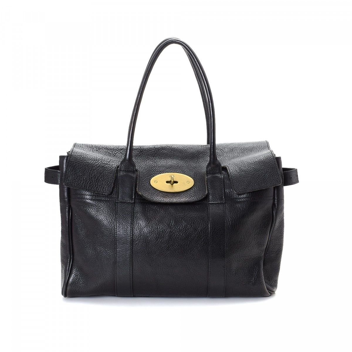 Mulberry Pre-owned - Navy Leather Handbag Bayswater