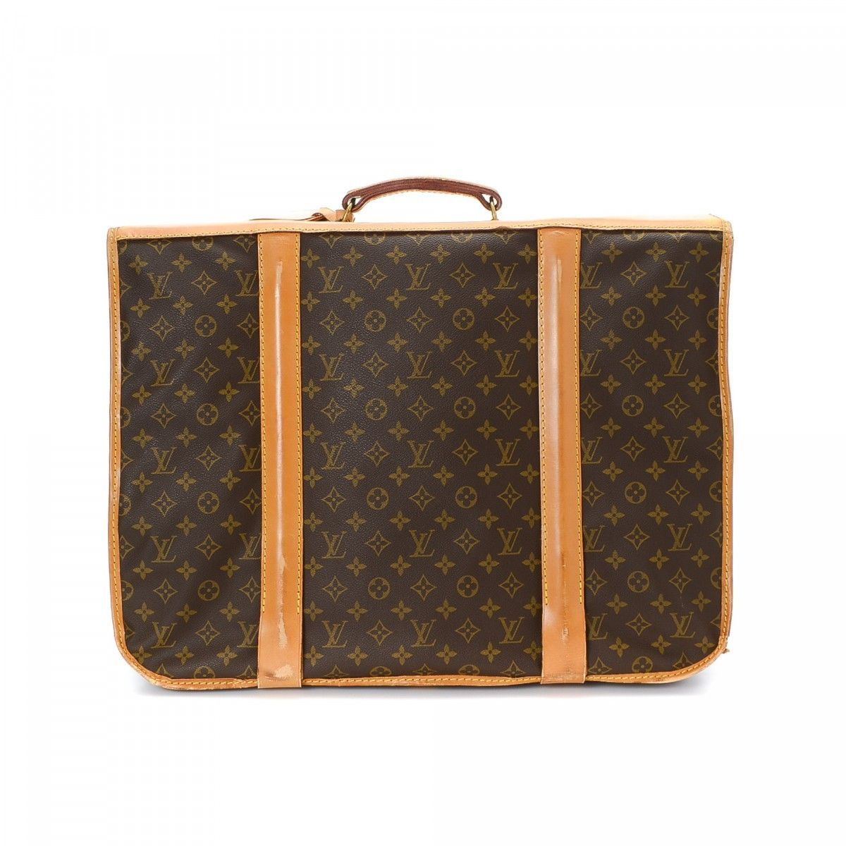 Louis Vuitton 5 Hangers Garment Bag Monogram Coated Canvas ... a638424b85c5c