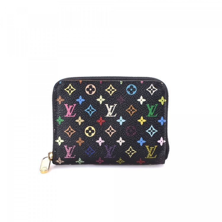 c2fc78406e85 The authenticity of this vintage Louis Vuitton Zippy Coin Purse wallet is  guaranteed by LXRandCo. Crafted in monogram multicolore coated canvas