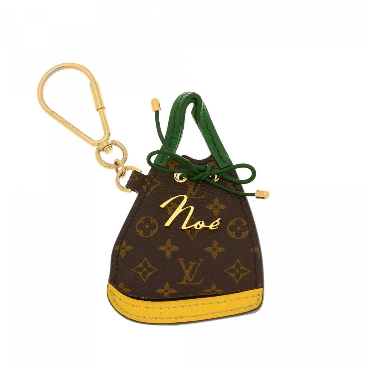 louis vuitton porte cles bb noe key chain bag charm. Black Bedroom Furniture Sets. Home Design Ideas