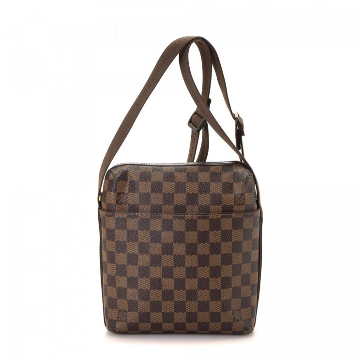 5ed9f120404e The authenticity of this vintage Louis Vuitton Ipanema GM shoulder bag is  guaranteed by LXRandCo. Crafted in damier ebene coated canvas