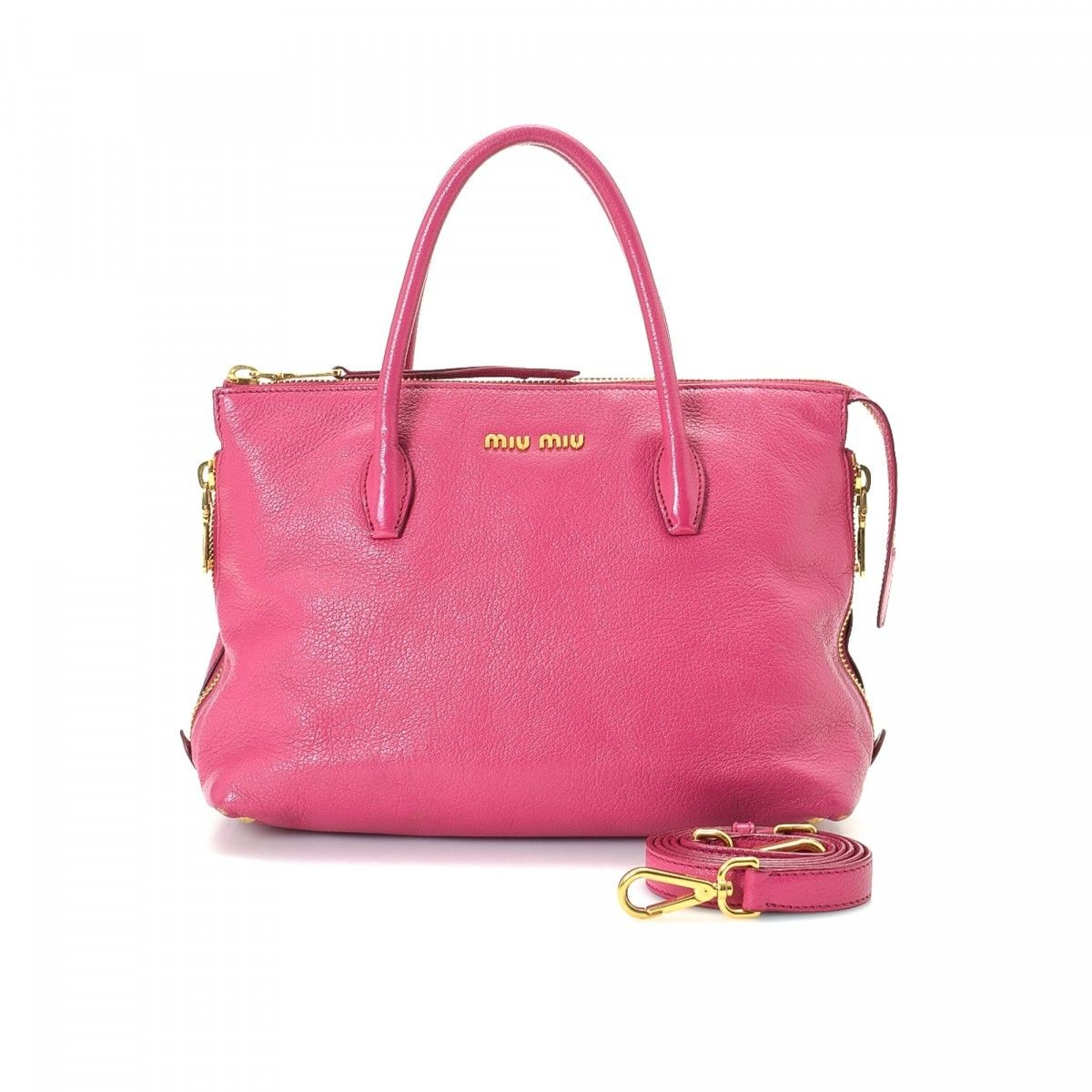 Miu Miu Pre-owned - Pink Leather Handbag jj4zswVlU