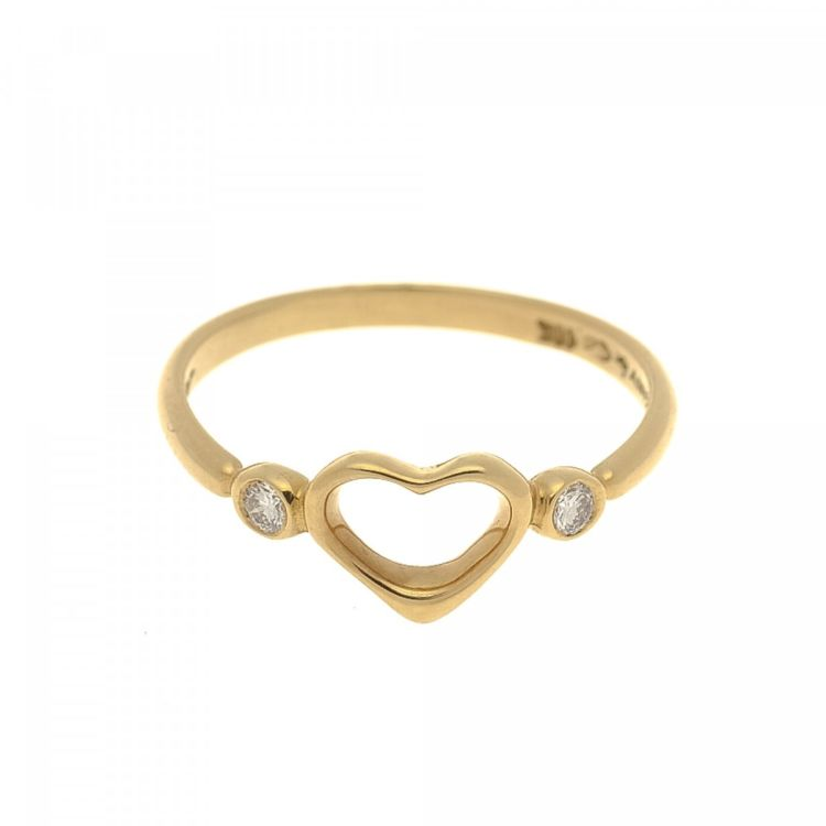Tiffany Peretti Open Heart Ring US 6 18K Gold LXRandCo Pre
