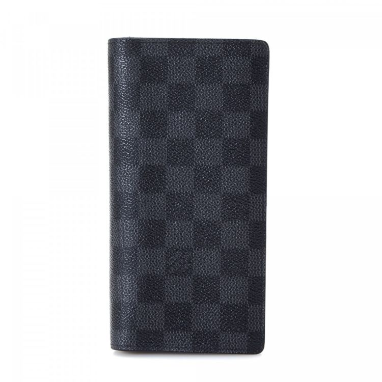 Louis Vuitton Brazza Wallet Damier Graphite Coated Canvas - LXRandCo ... 311ae257a92