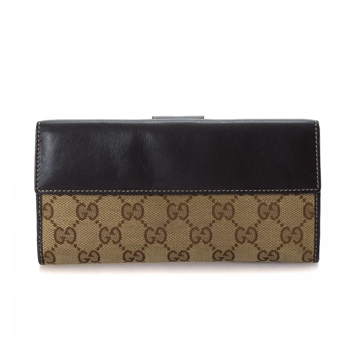 1aaae327b817 Gucci Heart Continental Wallet GG Canvas - LXRandCo - Pre-Owned ...