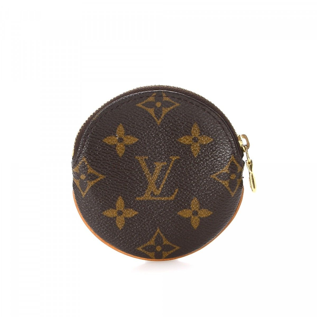 d09834f3399c Louis Vuitton Round Coin Purse Monogram Coated Canvas - LXRandCo ...