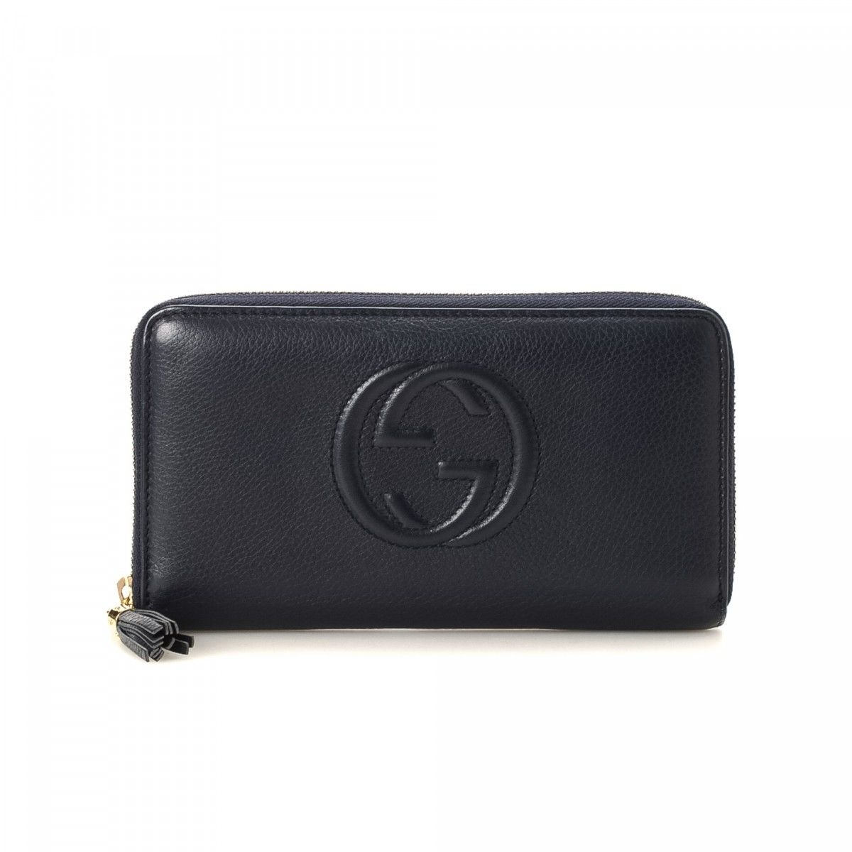 ee9bd167e058 Gucci Soho Zip Around Wallet Leather - LXRandCo - Pre-Owned Luxury ...