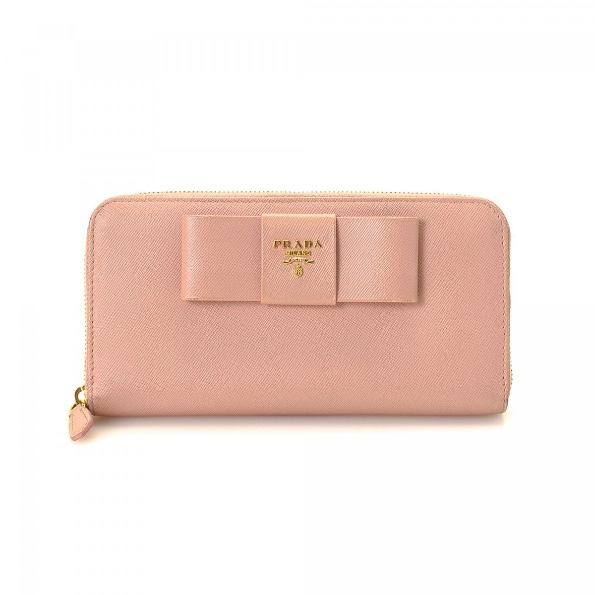 37d41c7ec27399 ... coupon for prada saffiano bow zip around wallet e76e4 1ad99