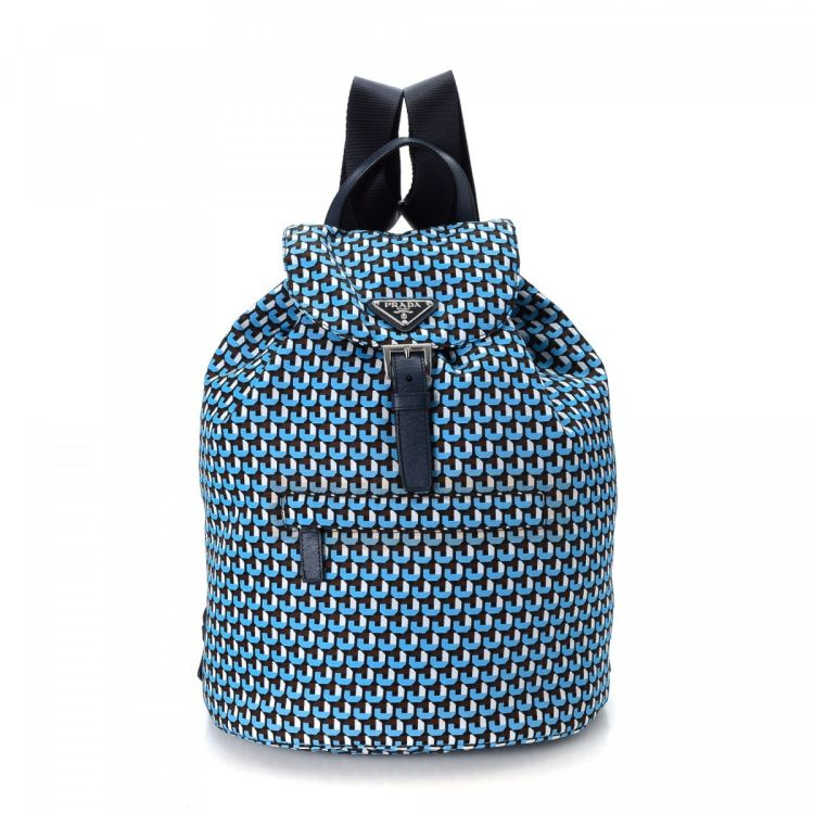 f27f60cdb4806d LXRandCo guarantees this is an authentic vintage Prada Printed backpack.  This signature rucksack was crafted in tessuto nylon in multi color.