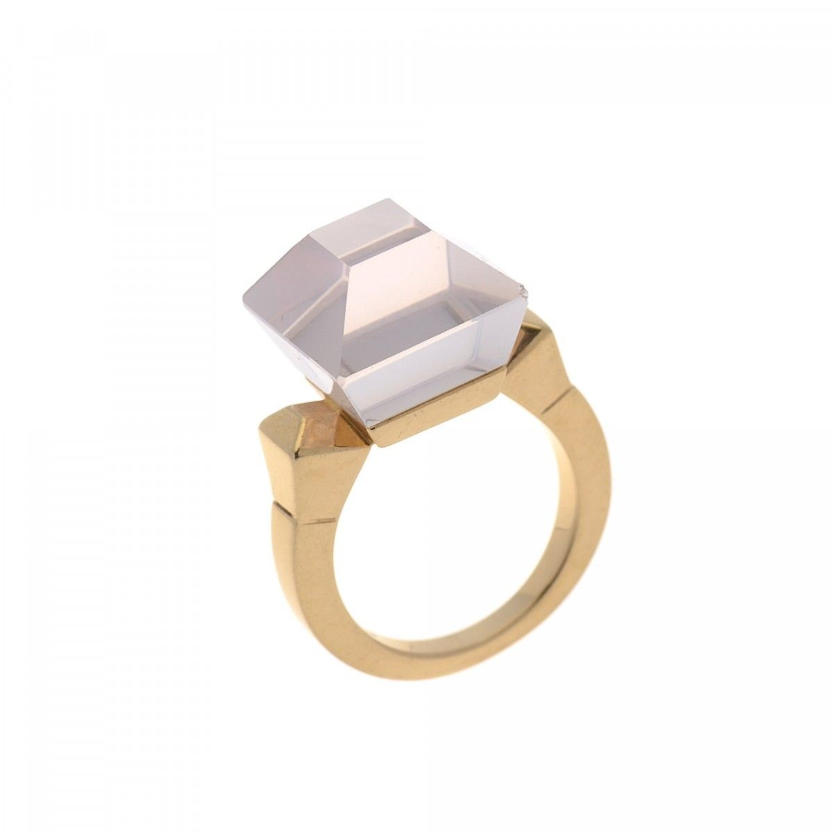 quality high rutile ring gold wedding white rings products quartz
