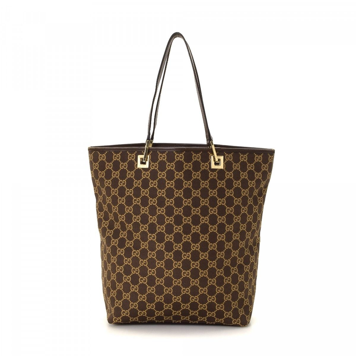 152362a45f7 Gucci GG Canvas Tote Bag GG Canvas - LXRandCo - Pre-Owned Luxury Vintage
