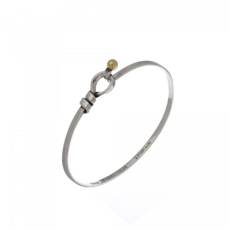 9ed1f0b3a LXRandCo guarantees this is an authentic vintage Tiffany Love Knot Bangle  16cm bracelet & bangle. This elegant bracelet & bangle was crafted in  sterling ...