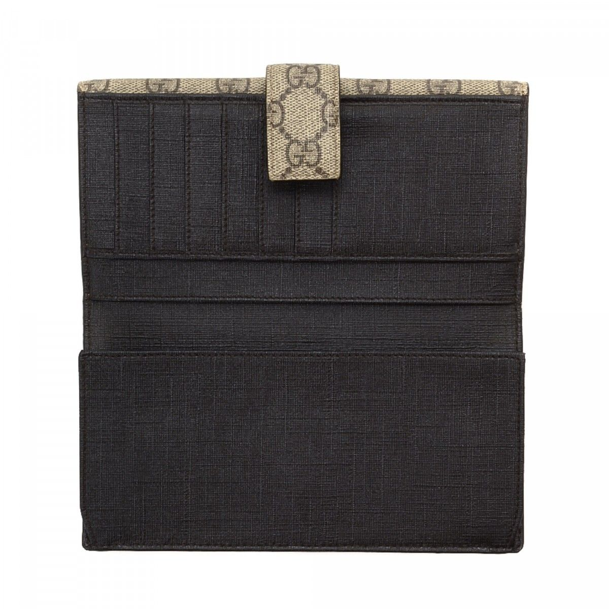 Coated-canvas Continental Wallet - Beige Gucci zX6bTnl2