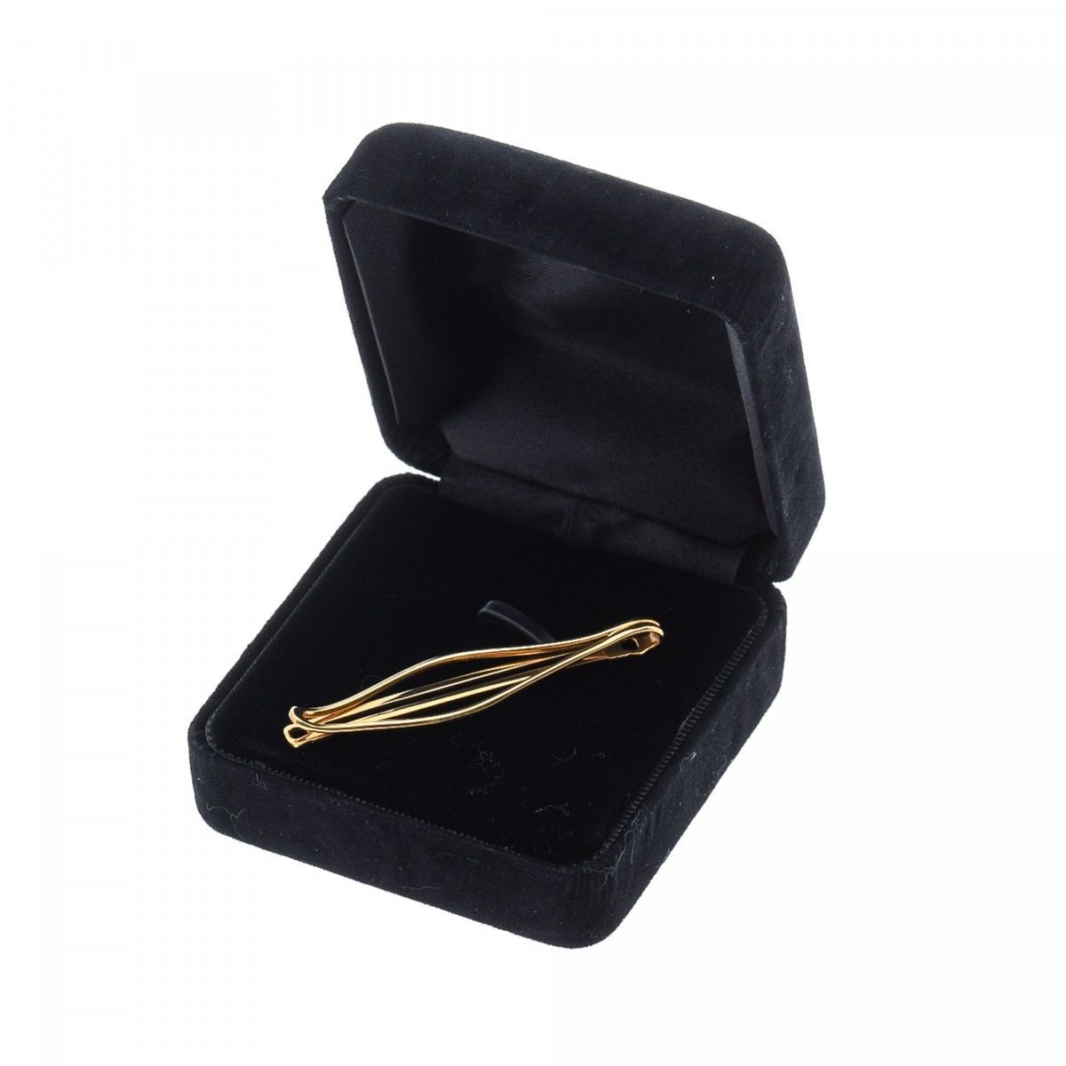 0ebe58b1e376 Tiffany Tie Clip 18K Yellow Gold - LXRandCo - Pre-Owned Luxury Vintage