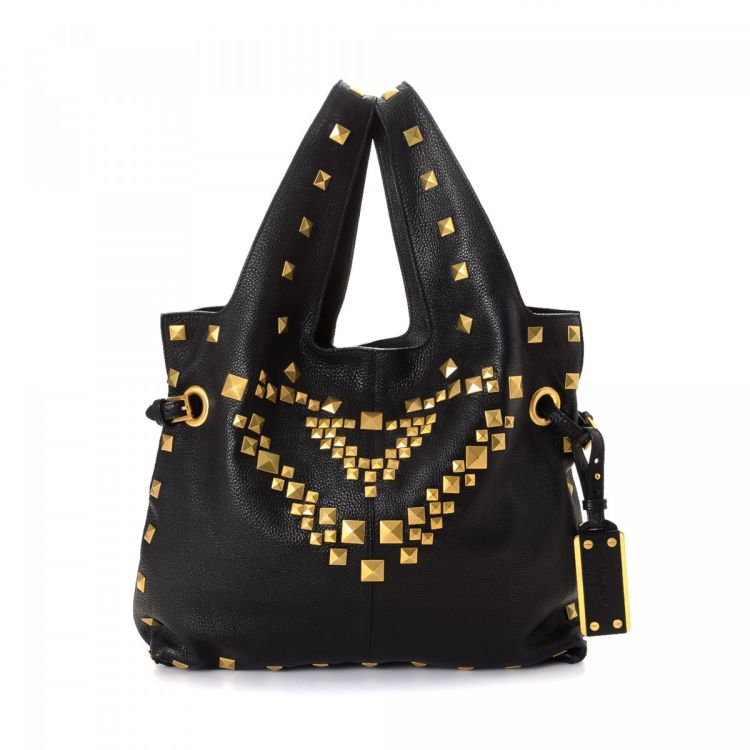 a3e07ca59e Givenchy Studded Tote Leather - LXRandCo - Pre-Owned Luxury Vintage