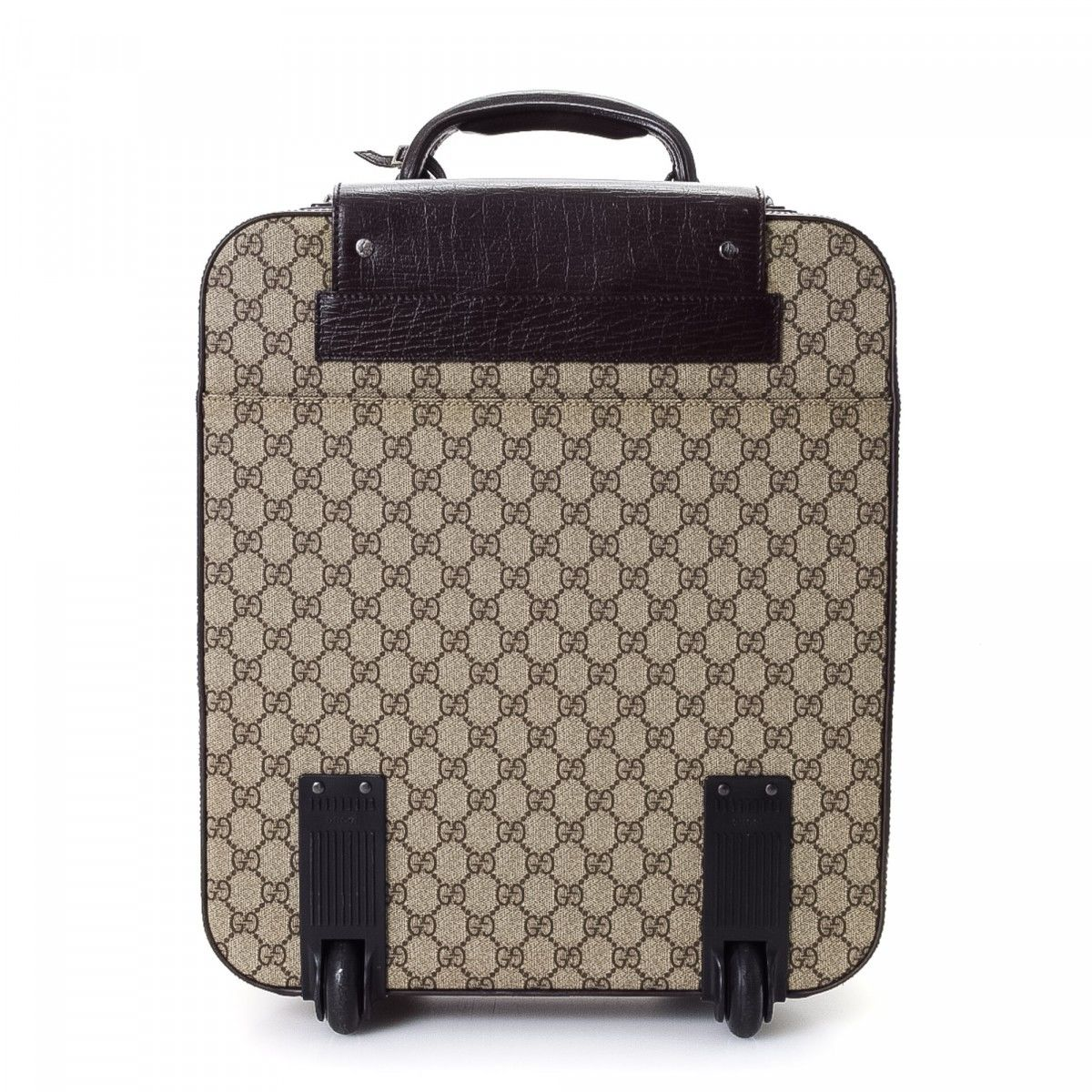 c9c3a9823ef GG Supreme Web Suitcase. Free Shipping. The authenticity of this vintage  Gucci Web Suitcase trunk is guaranteed by LXRandCo. Crafted in gg supreme  coated ...