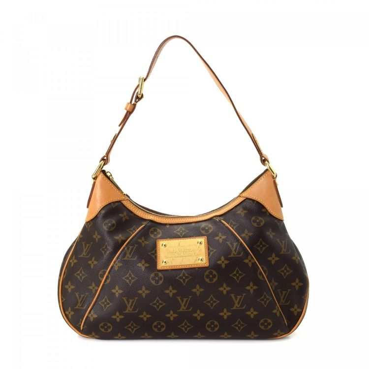 4f43803f060b LXRandCo guarantees this is an authentic vintage Louis Vuitton Galliera PM  shoulder bag. Crafted in monogram coated canvas
