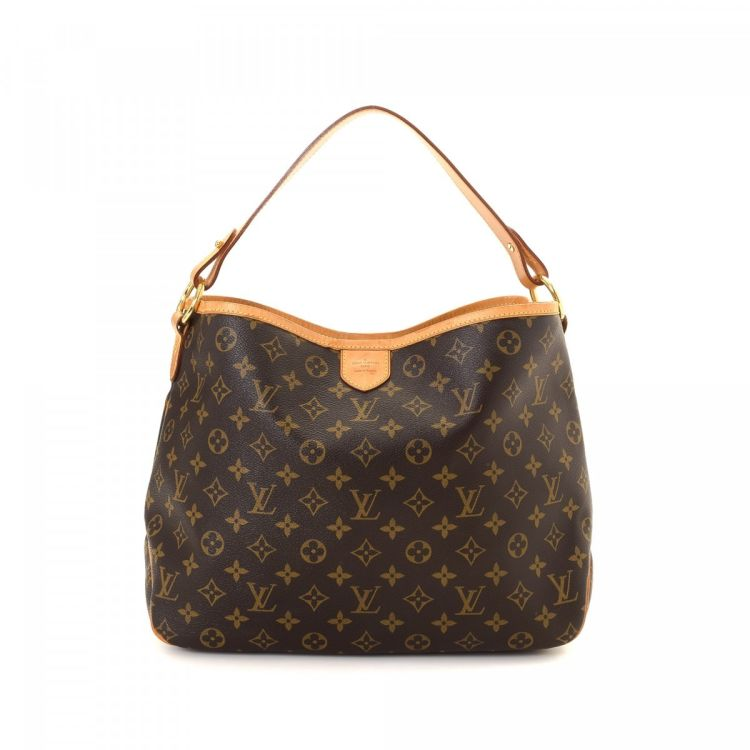 LXRandCo guarantees the authenticity of this vintage Louis Vuitton  Delightful PM shoulder bag. Crafted in monogram coated canvas d9676a0627ad4
