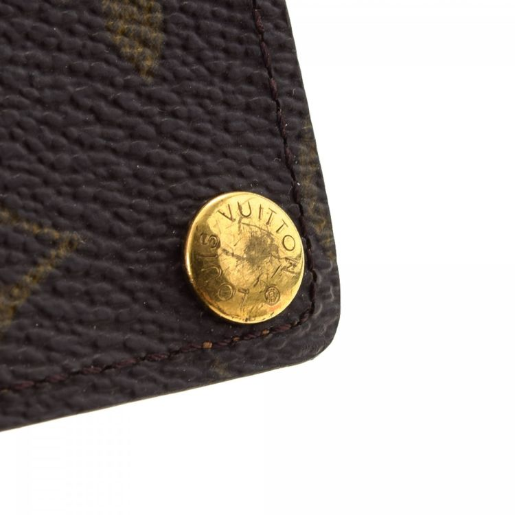 Louis Vuitton Portecartes Credit Pression Monogram Coated Canvas - Porte carte credit