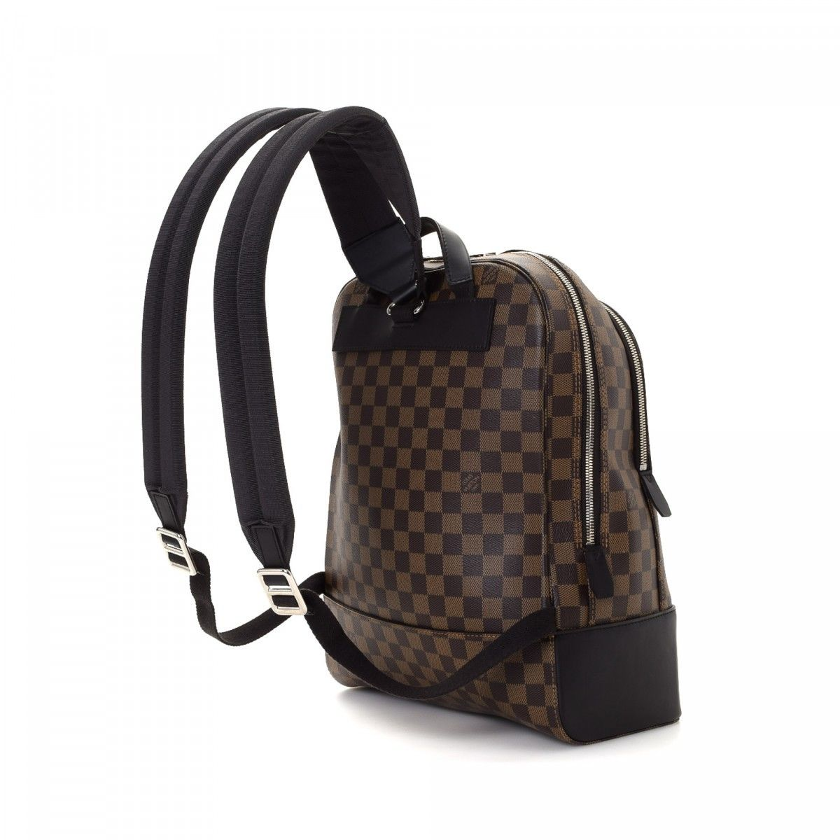 87f8fbf5a68 Louis Vuitton Jake Damier Ebene Coated Canvas - LXRandCo - Pre-Owned ...