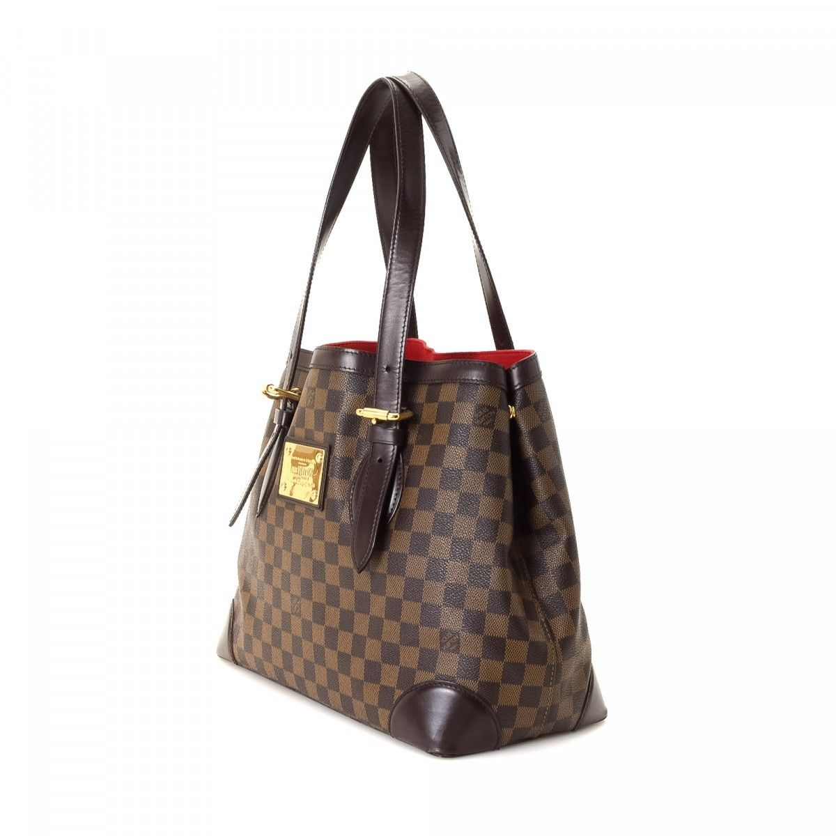 Hampstead Pre Owned >> Louis Vuitton Hampstead MM Damier Ebene Coated Canvas ...