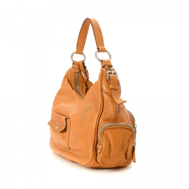 Buffalo Side Pocket Handbag