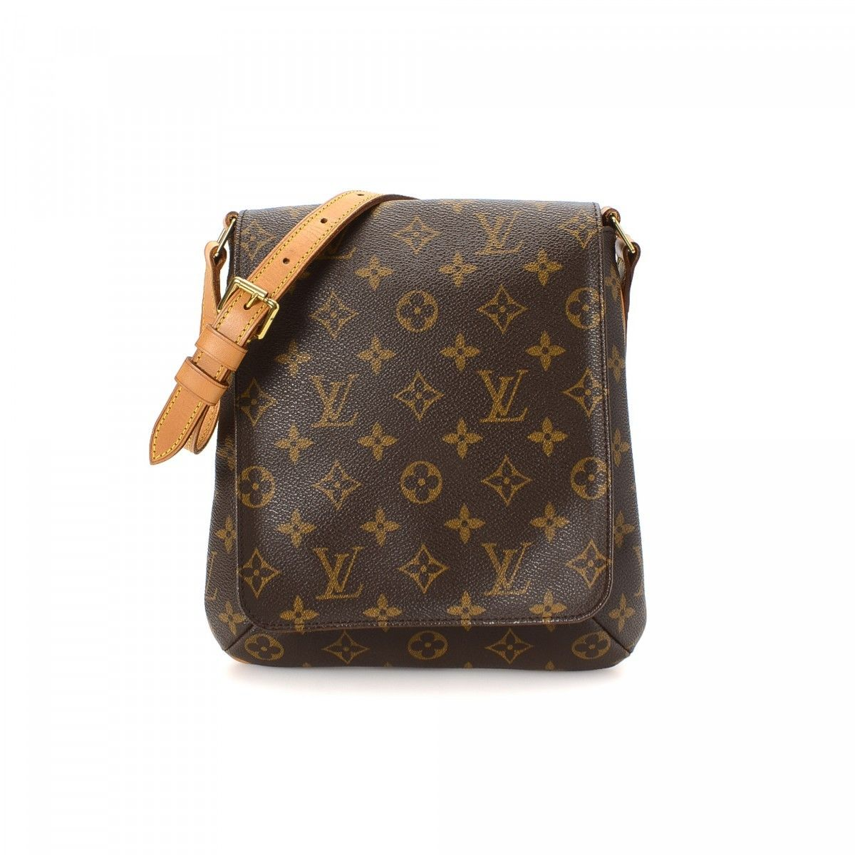 louis vuitton musette salsa short strap monogram coated canvas lxrandco pre owned luxury vintage. Black Bedroom Furniture Sets. Home Design Ideas