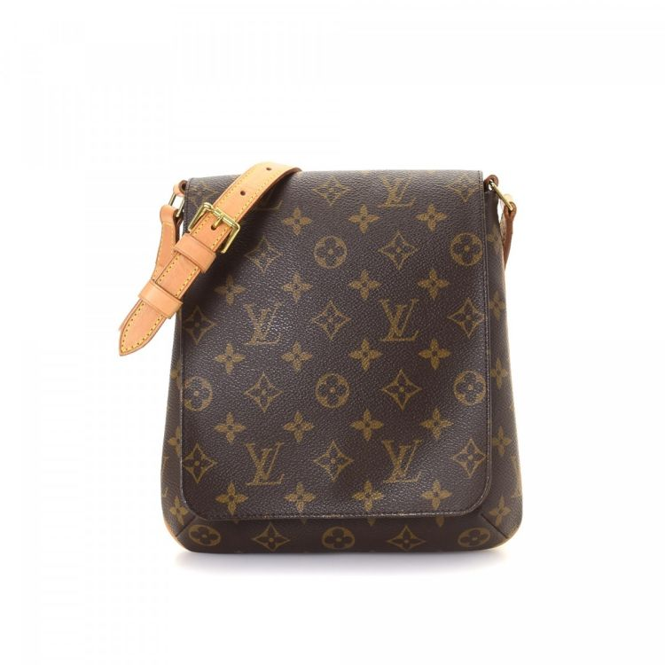 db51562a3341f Louis Vuitton Musette Salsa Short Strap Monogram Coated Canvas ...