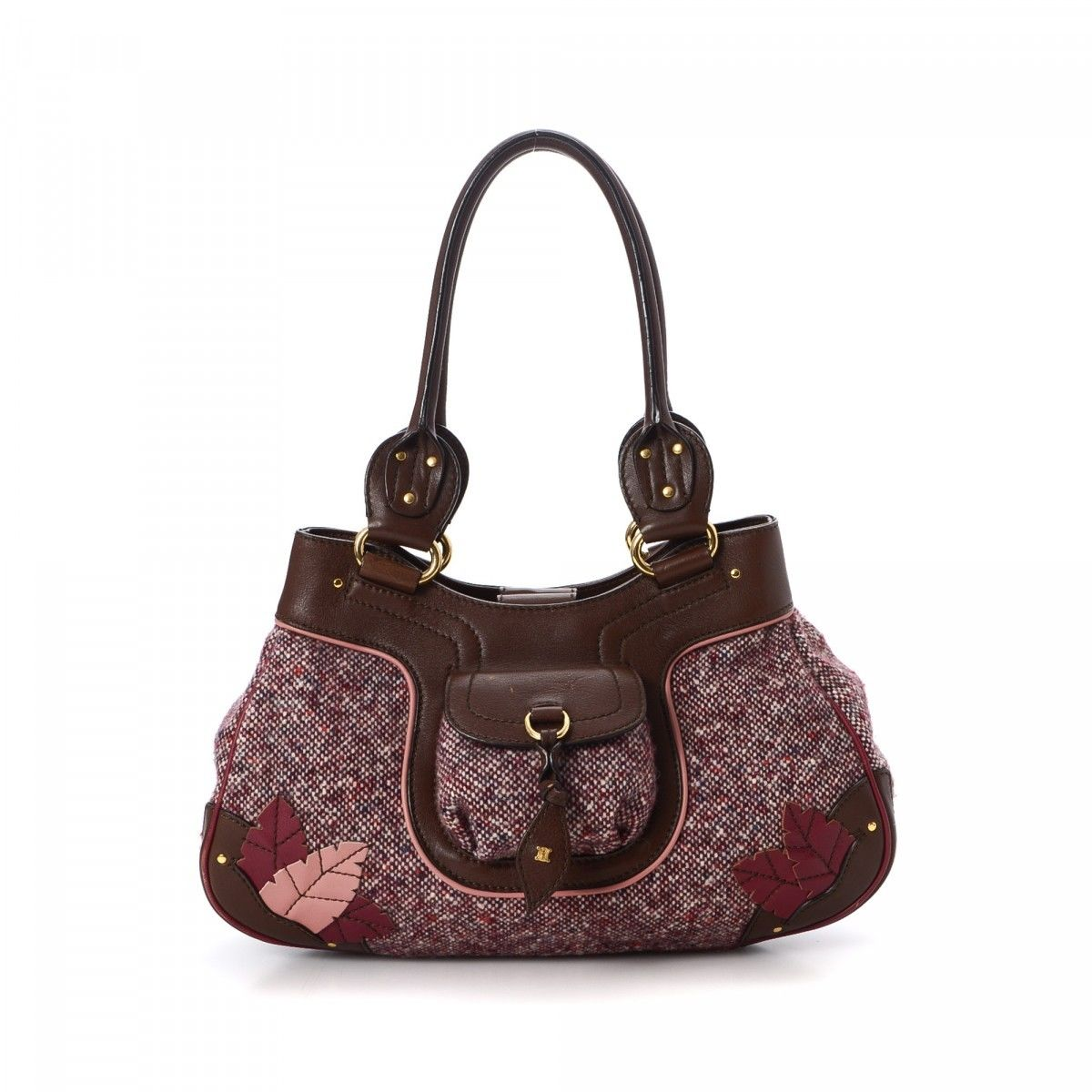 16dec3931f649 Céline Tweed Shoulder Bag. Free Shipping. LXRandCo guarantees the authenticity  of this vintage ...