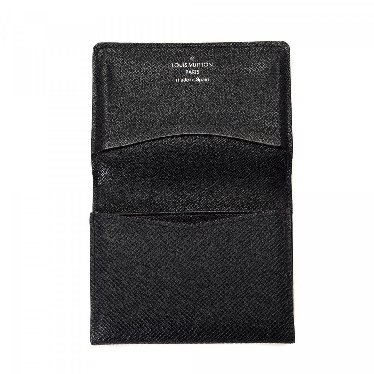Louis Vuitton Business Card Holder Taiga Leather - LXRandCo - Pre ...