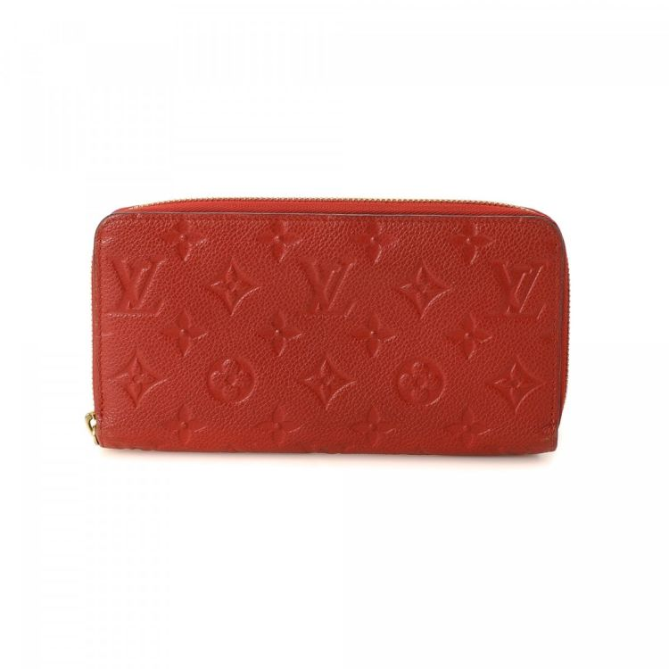 cbb7979cc2fe The authenticity of this vintage Louis Vuitton Zippy wallet is guaranteed  by LXRandCo. This classic coin purse in orient is made in monogram empreinte  ...