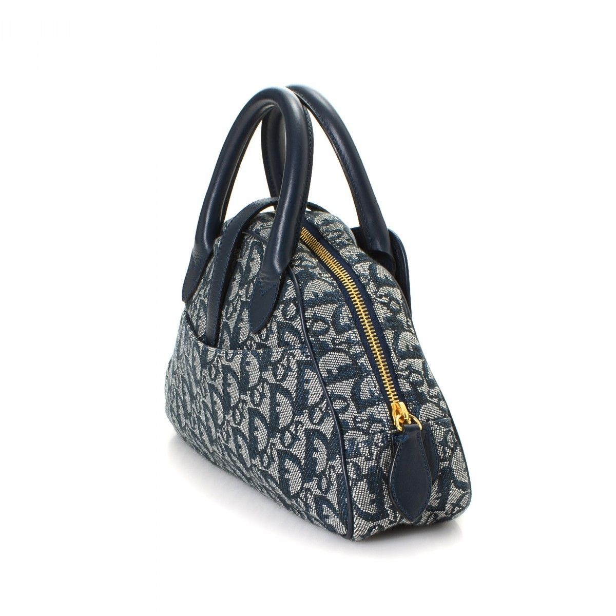 9c2bf0d44 Dior Mini Saddle Bag Trotter Canvas - LXRandCo - Pre-Owned Luxury ...