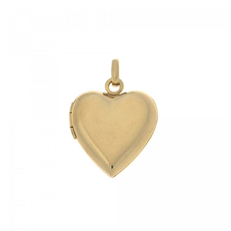 Tiffany heart locket pendant 14k gold lxrandco pre owned luxury the authenticity of this vintage tiffany heart locket pendant is guaranteed by lxrandco crafted in 14k gold this luxurious bag charm comes in beautiful aloadofball Image collections
