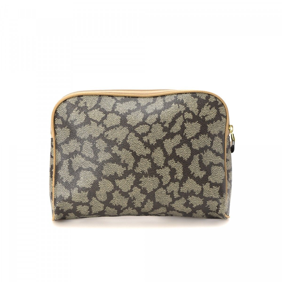 199169f76e7 Yves Saint Laurent Clutch Coated Canvas - LXRandCo - Pre-Owned ...