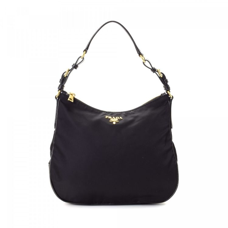 1678ae353b6a ... low price lxrandco guarantees this is an authentic vintage prada hobo  bag shoulder bag. this