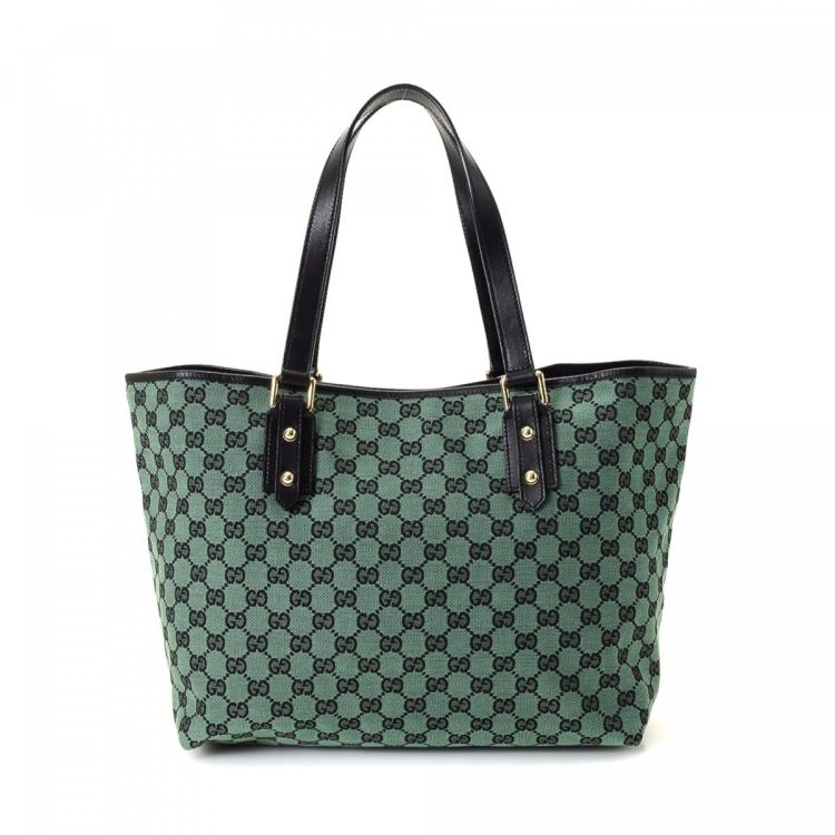 2d135a425ac6 Gucci GG Canvas Tote Bag GG Canvas - LXRandCo - Pre-Owned Luxury Vintage
