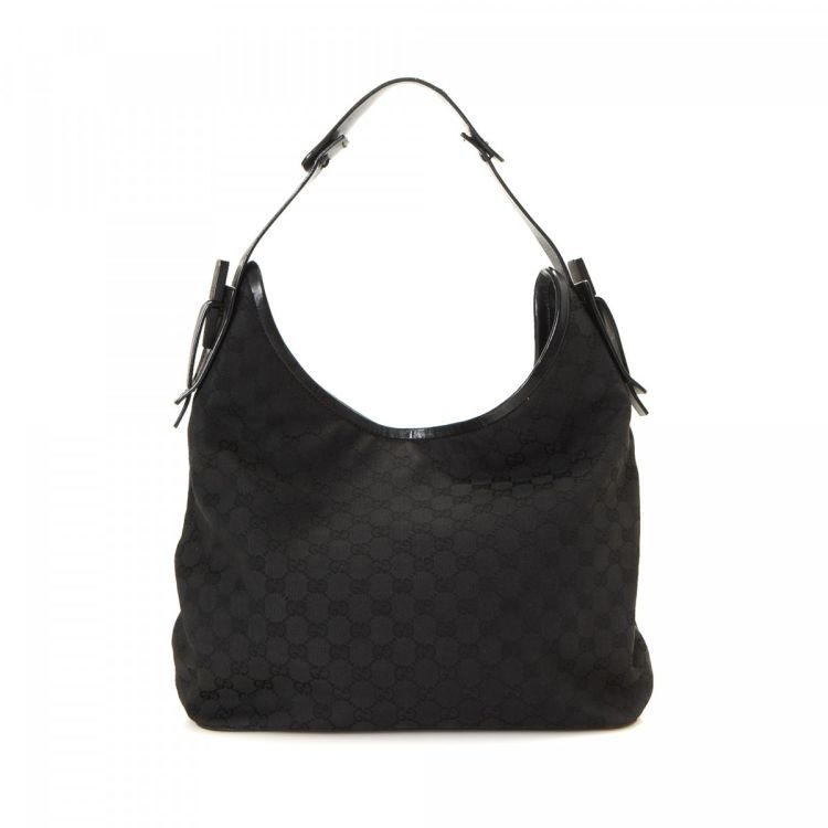 5f8c98098 Gucci GG Canvas Hobo Shoulder Bag GG Canvas - LXRandCo - Pre-Owned ...