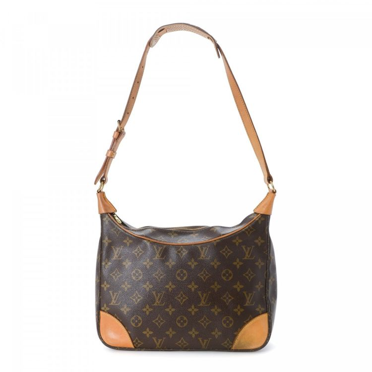 e181156a1ab0 LXRandCo guarantees the authenticity of this vintage Louis Vuitton Boulogne  30 shoulder bag. Crafted in monogram coated canvas