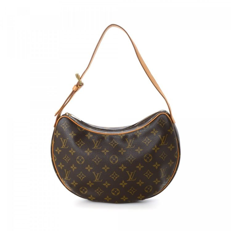 427d23e79165 The authenticity of this vintage Louis Vuitton Croissant MM shoulder bag is  guaranteed by LXRandCo. This exquisite bag was crafted in monogram coated  canvas ...