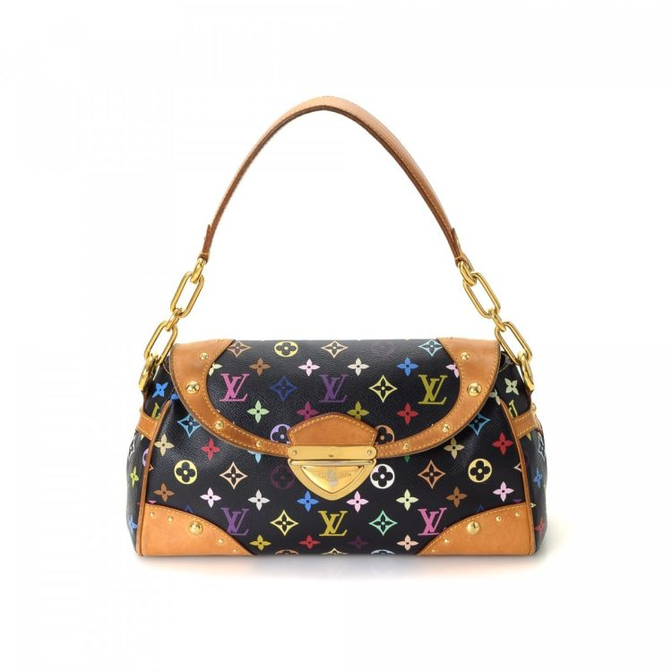 c8527ebfc8 The authenticity of this vintage Louis Vuitton Beverly MM shoulder bag is  guaranteed by LXRandCo. This beautiful shoulder bag in multi color is made  in ...