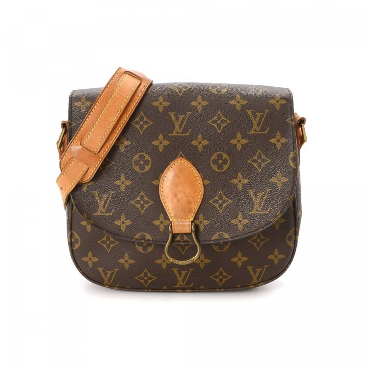 42a48a902c68 Louis Vuitton Saint-Cloud 24 Monogram Coated Canvas - LXRandCo - Pre ...
