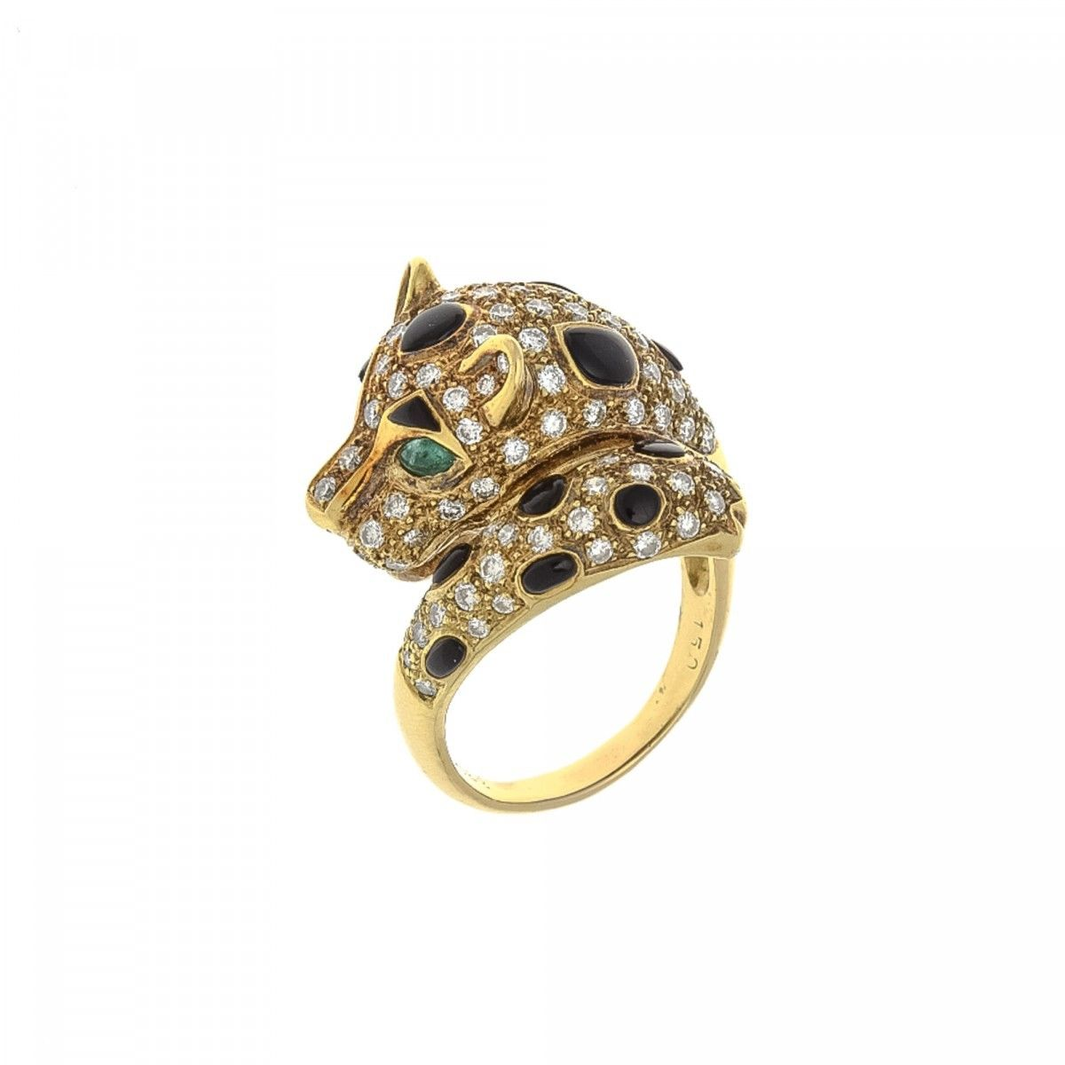 estate karat blue pin and diamond ring sapphire