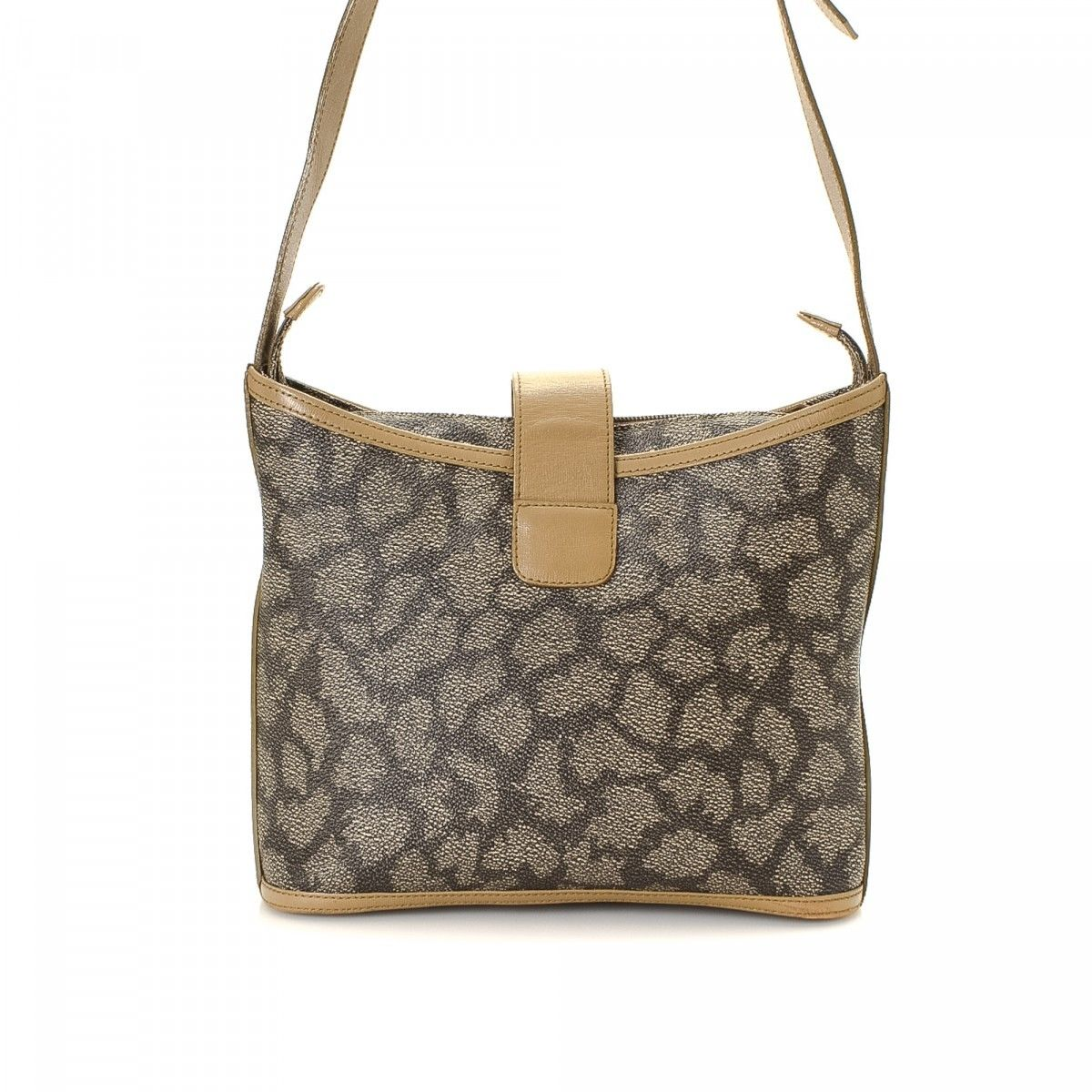c0a1aedb6ea Yves Saint Laurent Shoulder Bag Coated Canvas - LXRandCo - Pre-Owned ...